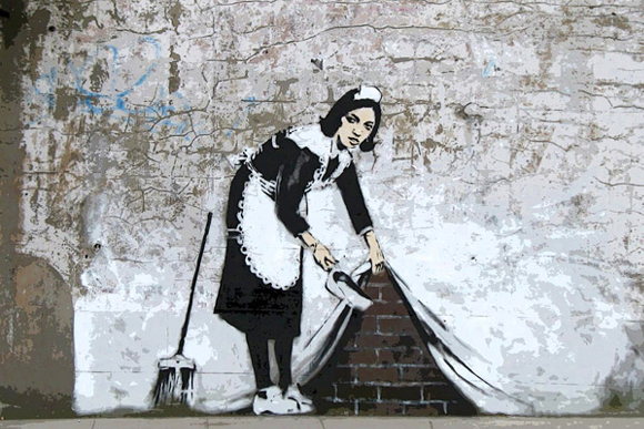 Maid-in-London-by-Banksy